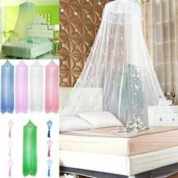 Round Elegant Lace Protect Mosquito Netting Mesh Canopy Prin
