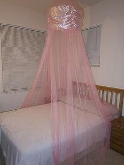 **Round Hoop** Bed Canopy Mosquito Net for QUEEN, FULL, KING