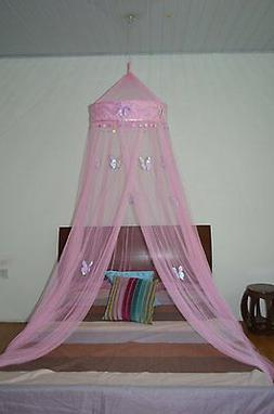 *Round Hoop* with Butterfly Bed Canopy Mosquito Net for All