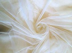 """Shatex DIY Beige Color 90""""Wx5 yard-L Mosquito Netting,Insect"""