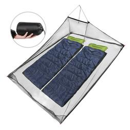 REDCAMP Single/Double Camping Triangle Pyramid Mosquito Net