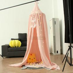 Soft Cotton Kids Baby Bedcover Bed Canopy Mosquito Net Tent