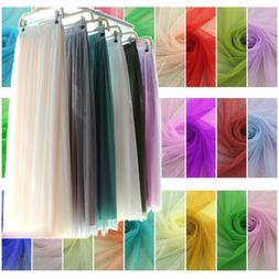 Soft Mesh Fabric TUTU Tulle Cloth Curtain Mosquito Net Dress