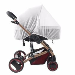 Stroller Pushchair Pram Mosquito Fly Insect Net Mesh Buggy C
