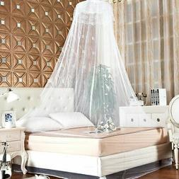 Summer Lace Bed Mosquito Netting Mesh Canopy Princess Round-