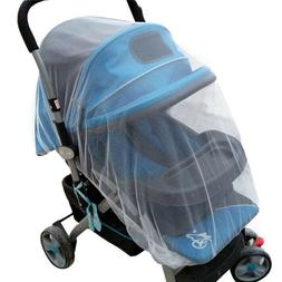-Summer Safe Baby Carriage Fly Insect Full Cover Mosquito Ne