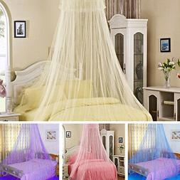 Mosquito Net Bed Queen Size Home Princess Bedding Lace Canop