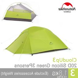 Naturehike Ultralight 3 Person Outdoor Double-Layer Large Hi