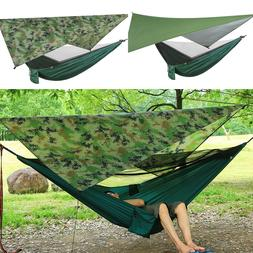 Ultralight Portable Nylon Camping Hammock Mosquito Net with