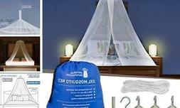 Universal Backpackers Mosquito Net for Single to King Conica
