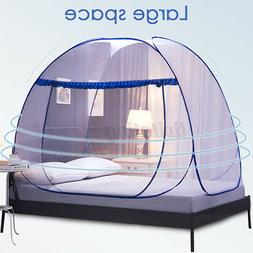 US Folding Mosquito Net Tent Canopy Curtains Outdoor Home Tr