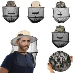 US Mens Women Mosquito Head Face Net Hat Mesh Protection Bug