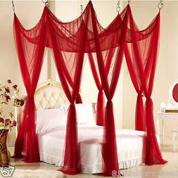 Wedding set bedding canopy bedroom decoration mosquito net h