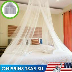 Mosquito Net Bed Queen Size Home Bedding Lace Canopy Netting